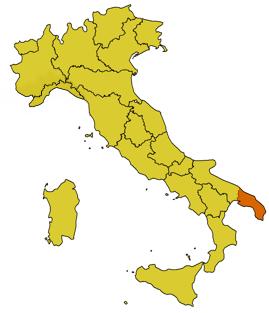 Mappa Del Salento Cartina Salento Mappa Geografica Salento